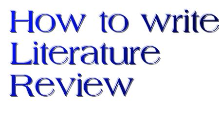 How to define search terms for literature review